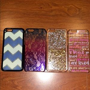 Accessories - Lot of 4 iPhone 6 cases
